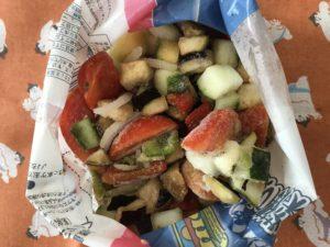 ベルギー産 6種類の野菜ミックス 開封