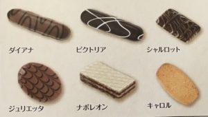 クッキーの種類①